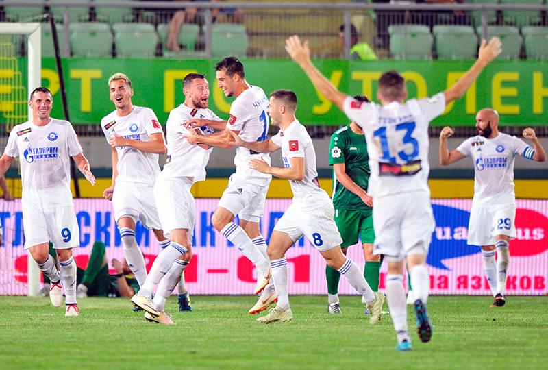 «Оренбург» одержал волевую победу над «Анжи»