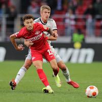 «Спартак» стартовал на групповом этапе Лиги Европы с поражения от «Легии»