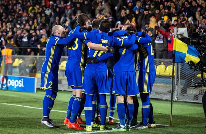 «Ростов» одержал волевую победу над «Баварией»