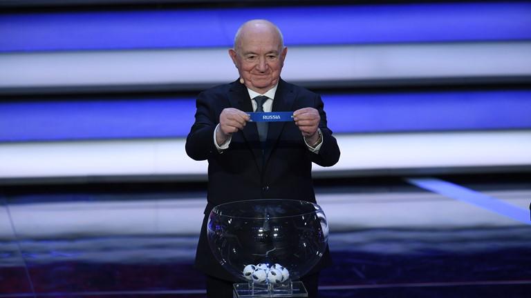 Россия сыграет с Уругваем, Египтом и Саудовской Аравией на ЧМ-2018