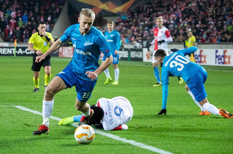 «Зенит» вышел в плей-офф Лиги Европы с первого места в группе