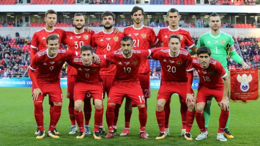 Сборная России играет с Аргентиной