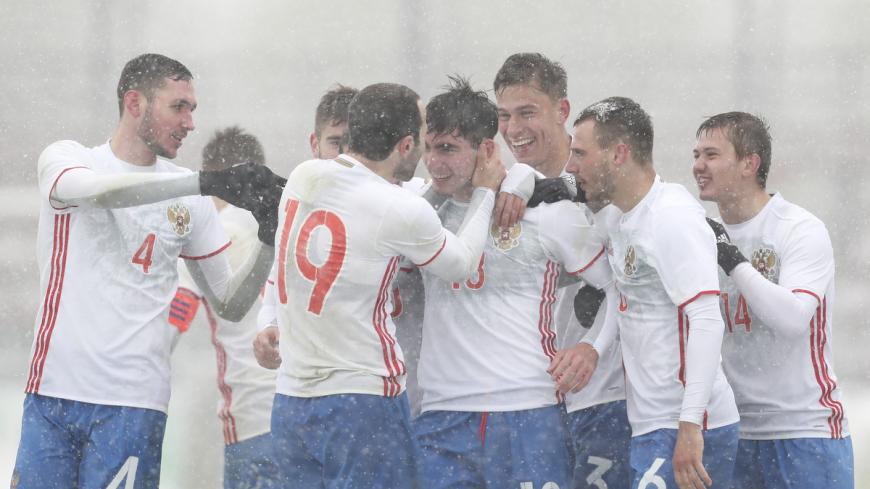 Сборная России одержала победу в матче с Македонией