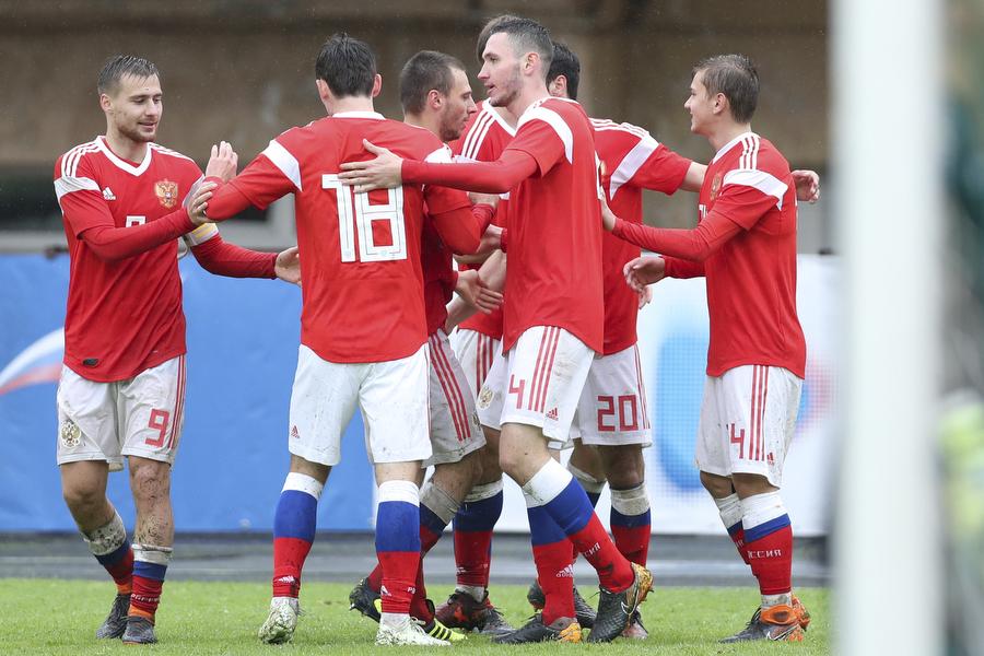 Молодежная сборная России разгромила Кипр