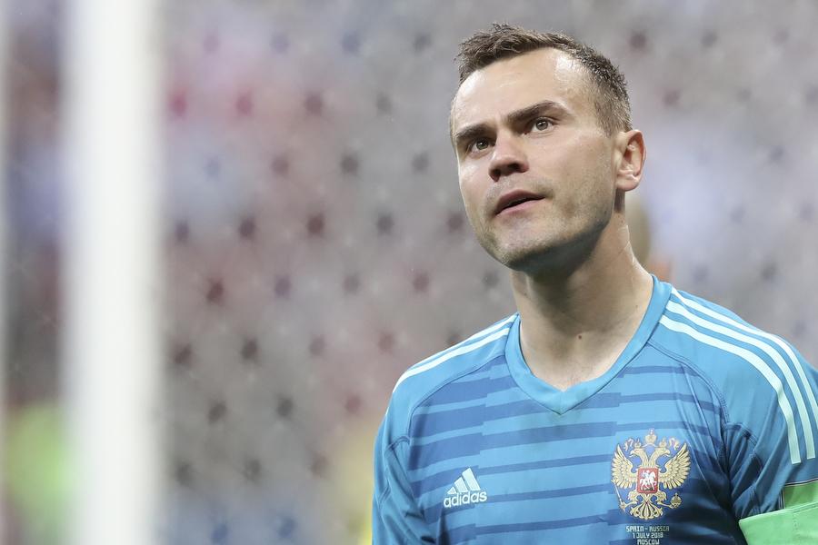 Игорь Акинфеев объявил о завершении карьеры в сборной России
