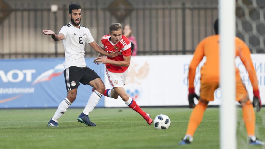 Молодежная сборная России сыграла вничью с Египтом