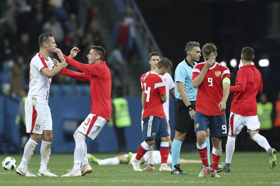 Молодежная сборная России уступила лидеру группы