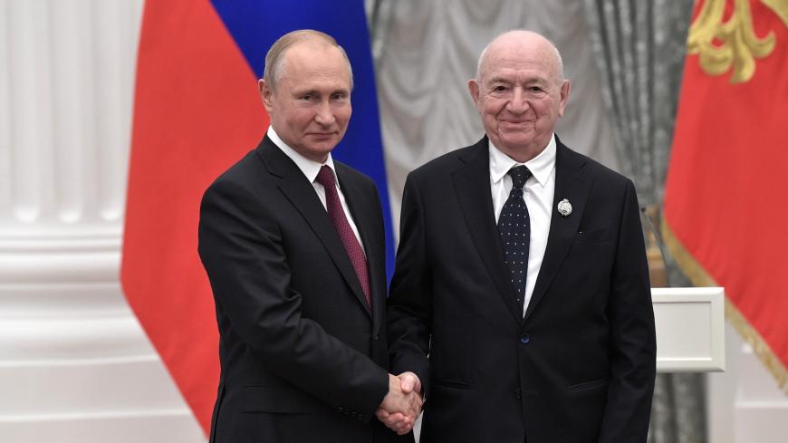 Никита Симонян - Заслуженный работник физической культуры РФ