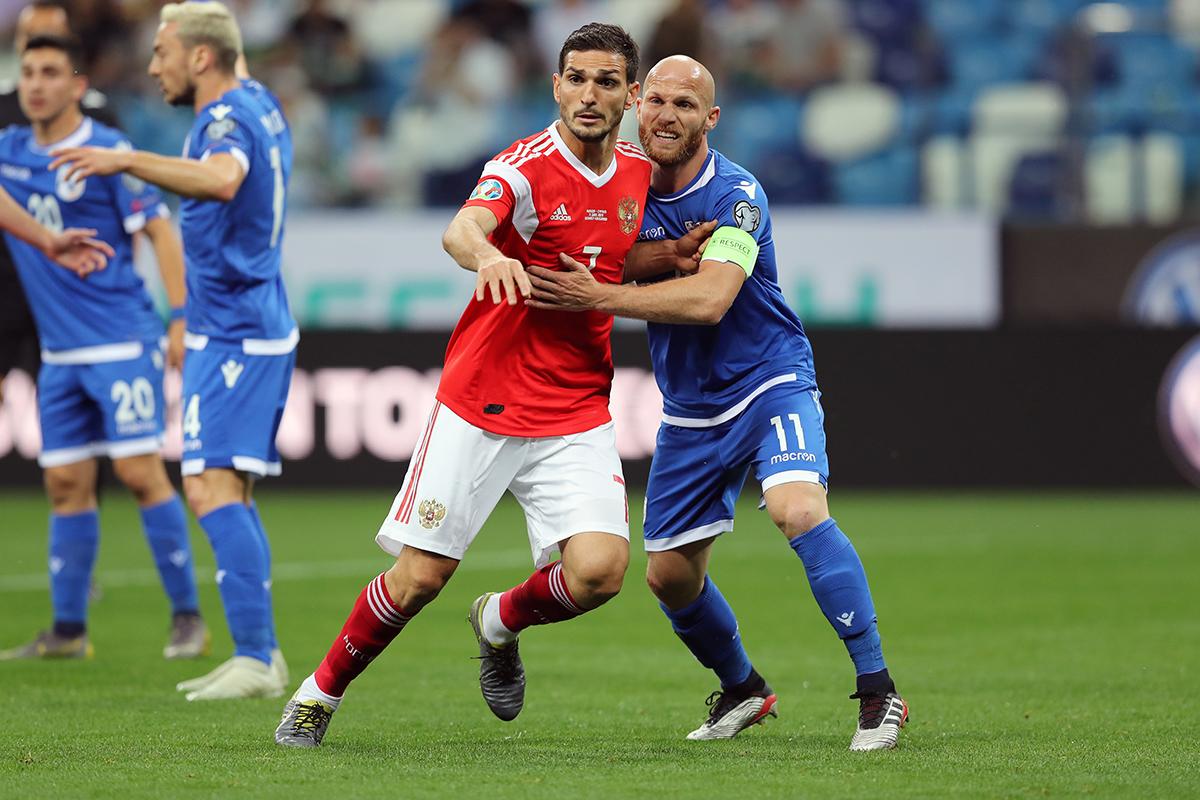 Для выхода на Евро-2020 сборной России нужно не уступить Кипру