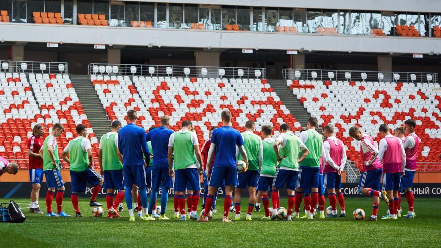 Молодежная сборная России победила Сербию