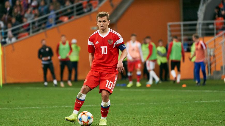 Молодежная сборная России сыграла вничью с Болгарией