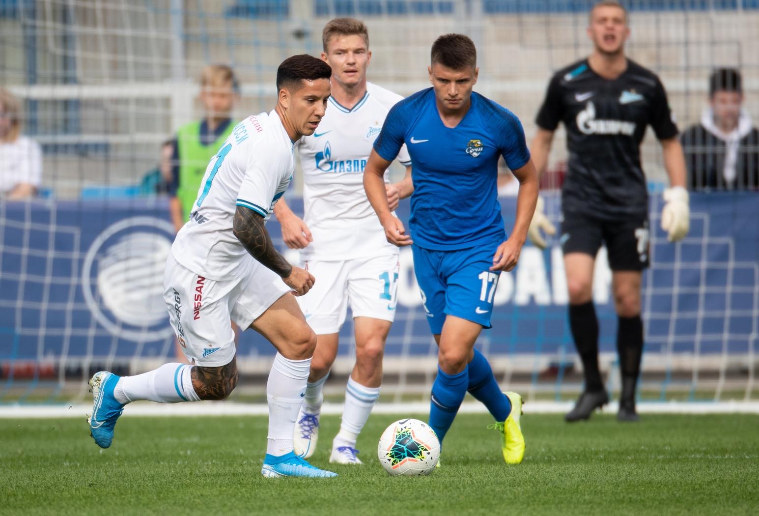 «Зенит» победил «Сочи» в товарищеском матче