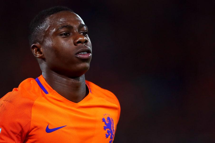 Куинси Промес приглашен в сборную Нидерландов