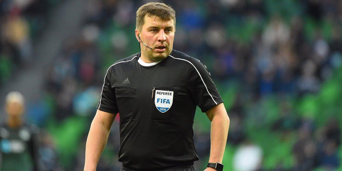 Михаил Вилков рассудит матч «Рубин» - «Зенит»