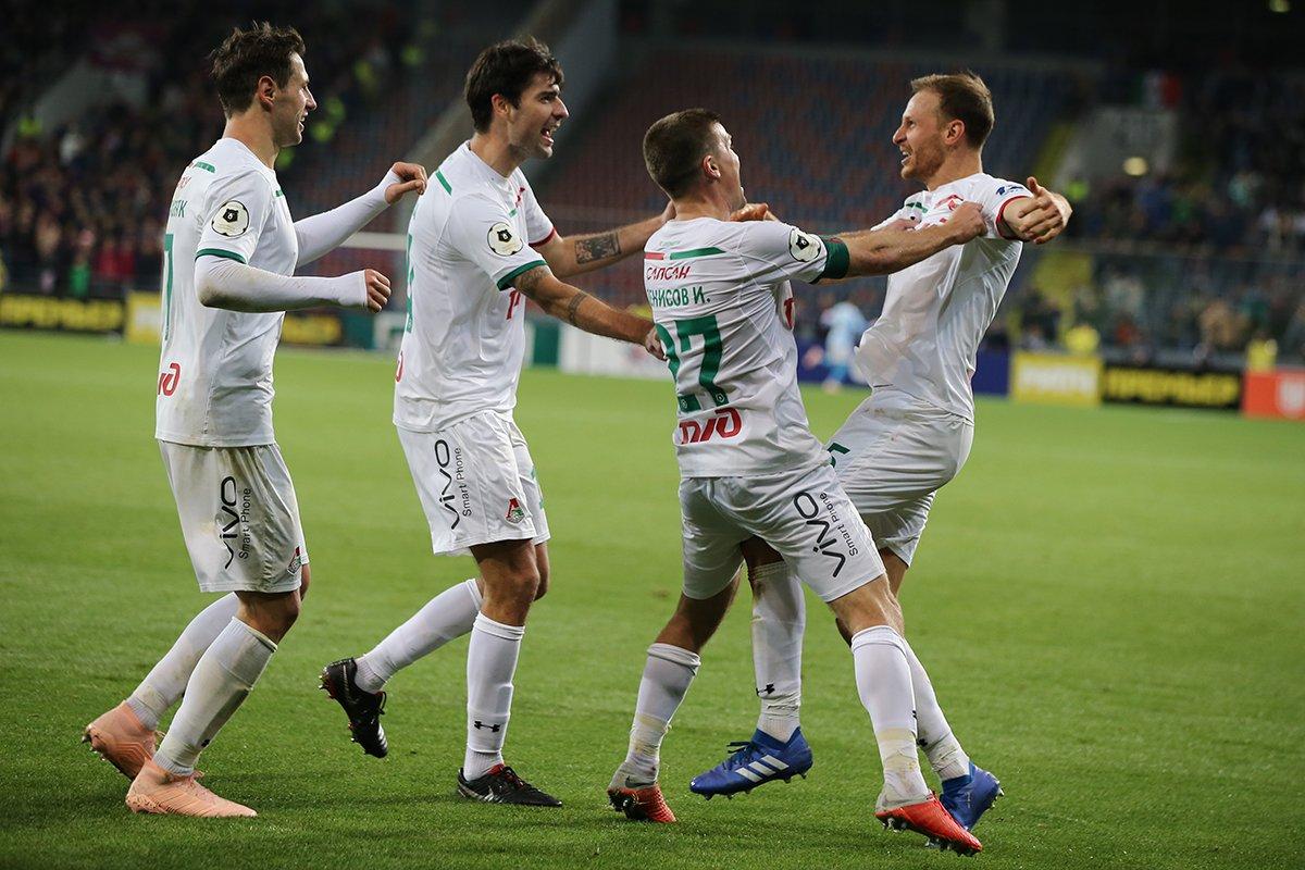 «Локомотив» одержал победу в московском дерби