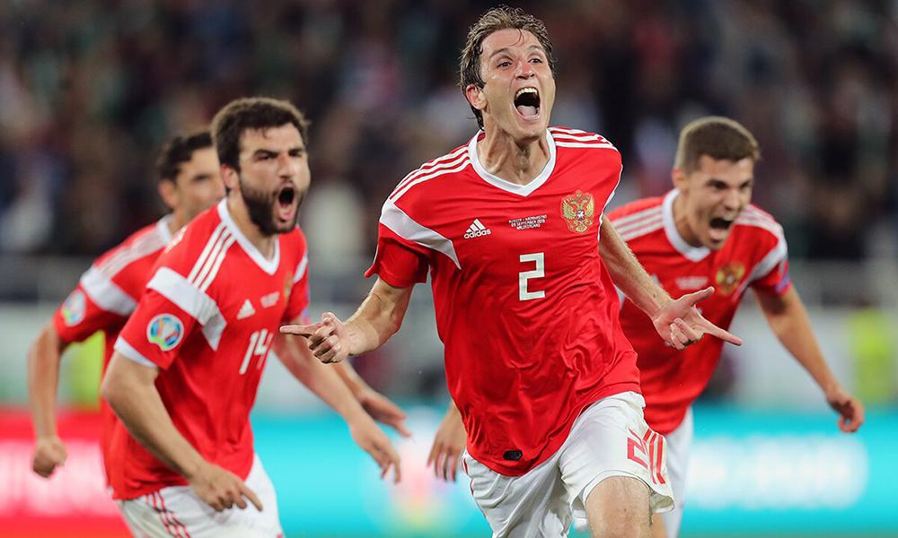 Сборная России победила Казахстан