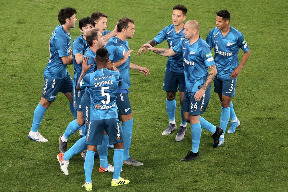 «Зенит» одержал победу в первом матче после перерыва