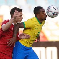 Игроки Тинькофф РПЛ в сборных: победа олимпийской сборной Бразилии с Малкомом, камбэк Колумбии с Барриосом