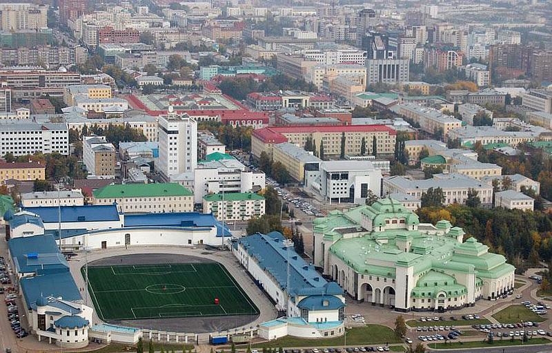 «Уфа» проведет первый домашний матч на стадионе «Динамо»
