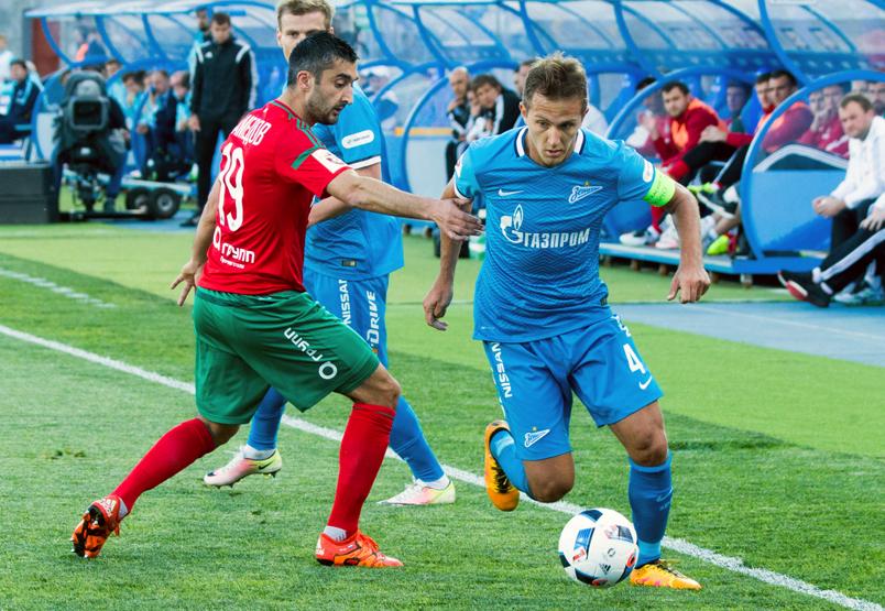 «Зенит» и «Локомотив» сыграли вничью