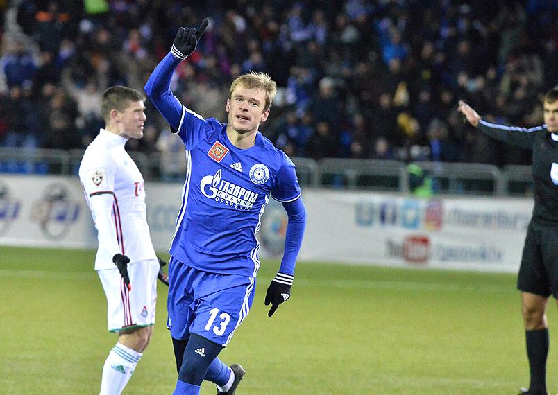 «Оренбург» и «Локомотив» сыграли вничью
