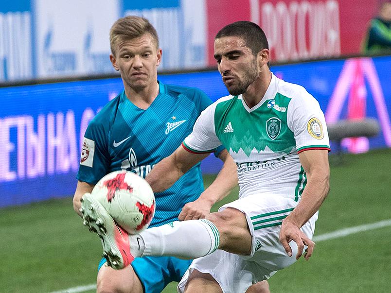 «Терек» одержал победу в Санкт-Петербурге