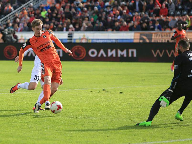 «Крылья Советов» победили в Екатеринбурге