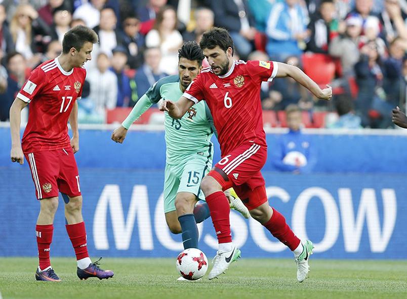 Сборная России уступила Португалии