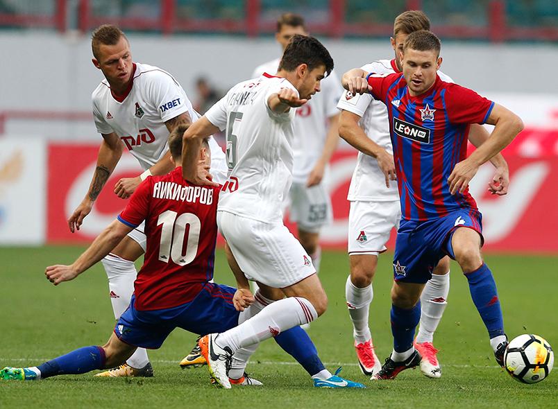 «Локомотив» обыграл «СКА-Хабаровск»