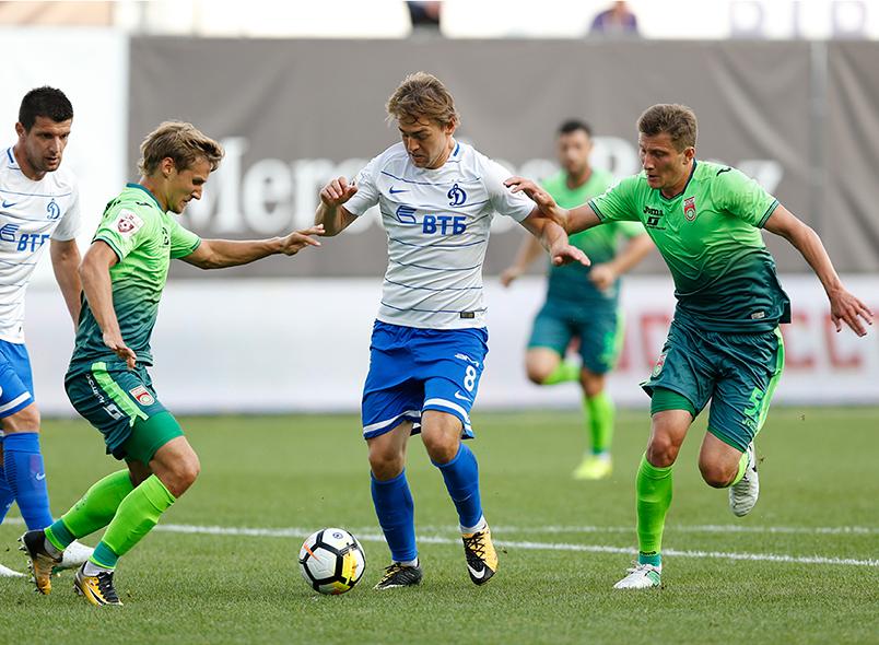 «Динамо» и «Уфа» сыграли вничью
