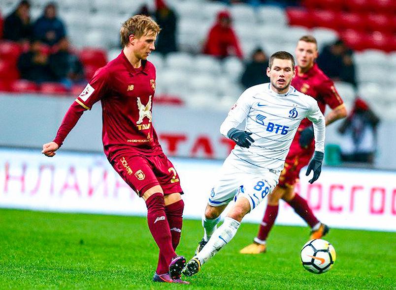 «Рубин» и «Динамо» голов не забили