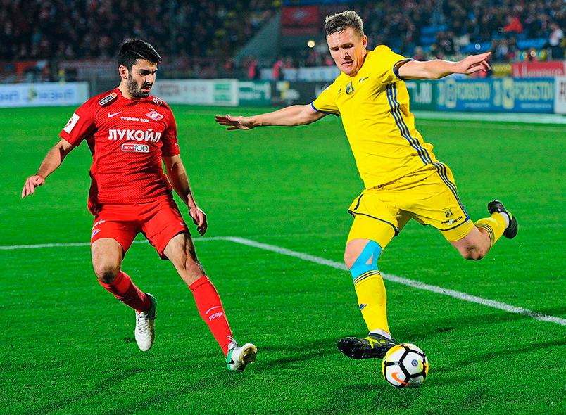 «Ростов» и «Спартак» сыграли вничью