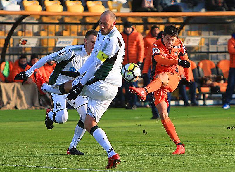 «Краснодар» одержал победу в Екатеринбурге