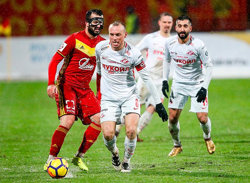 «Спартак» вырвал победу в Туле