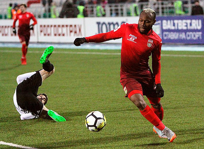 «Уфа» одержала победу над «Амкаром»