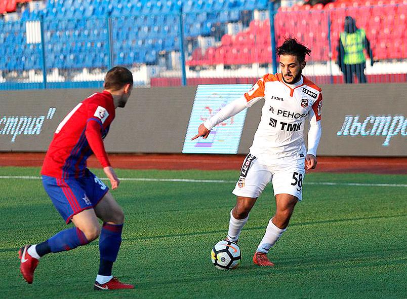 «Урал» одержал победу в Хабаровске