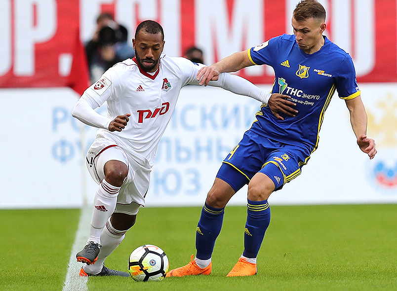 Гол Фарфана принёс победу «Локомотиву»