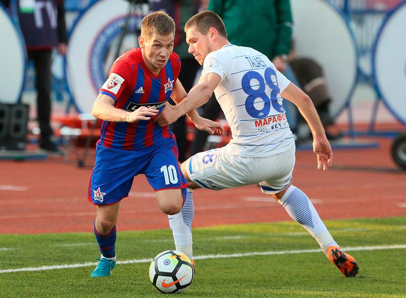 «СКА-Хабаровск» уступил «Динамо» и потерял шансы остаться в Премьер-Лиге