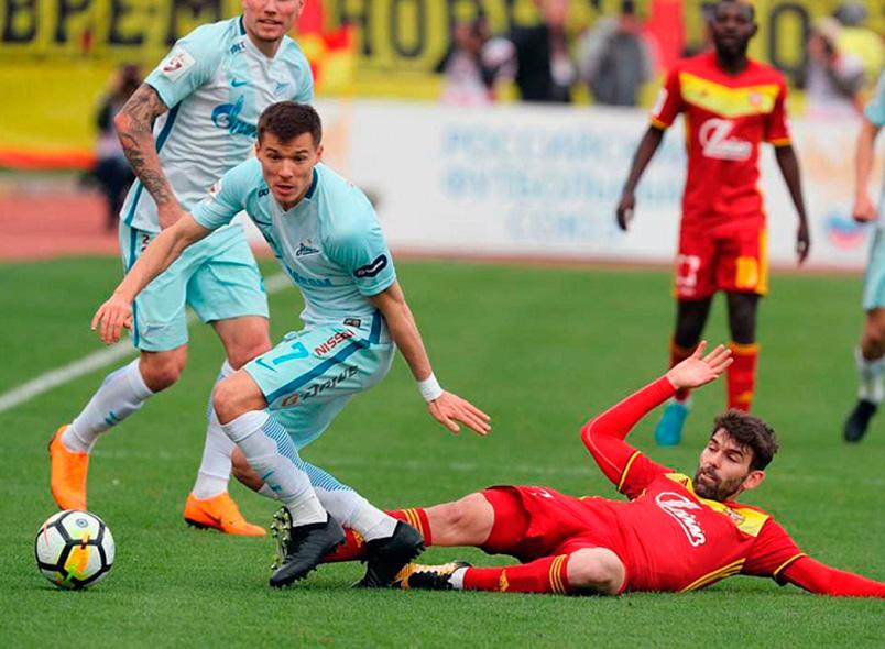 «Арсенал» и «Зенит» сыграли вничью