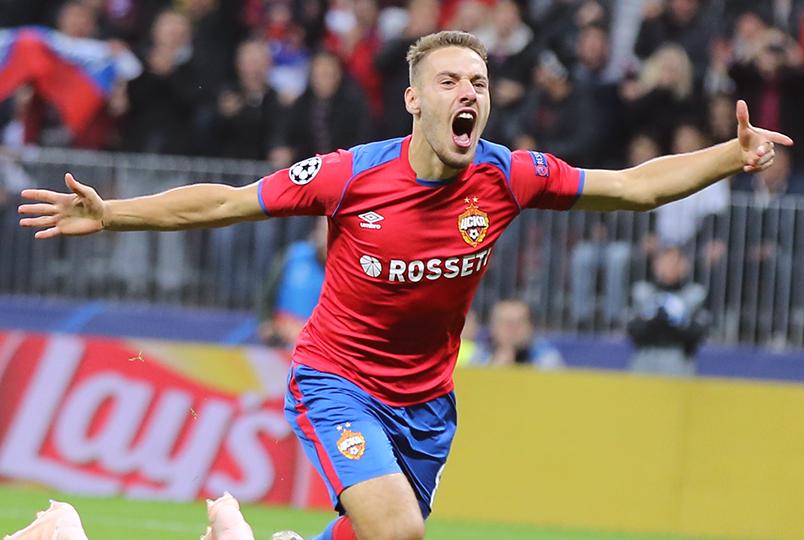 Никола Влашич – лучший игрок Российской Премьер-Лиги в сентябре!