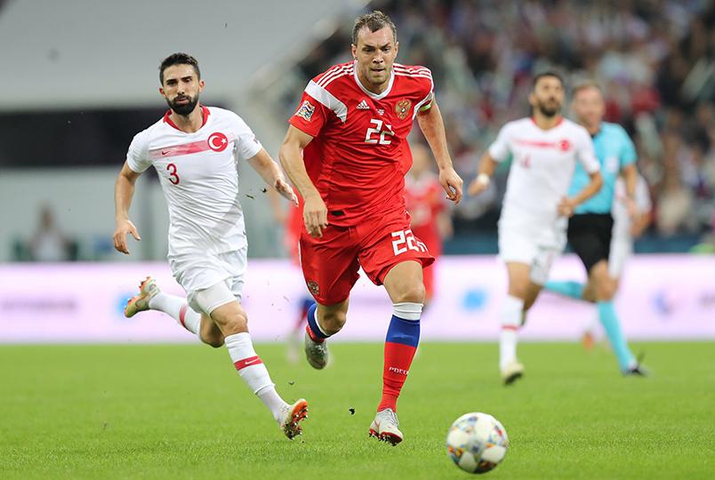 Россия обыграла Турцию