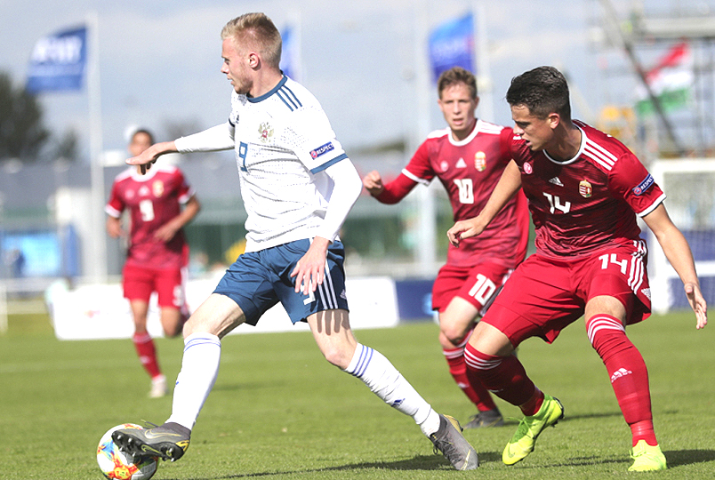 Юношеская сборная России уступила Венгрии