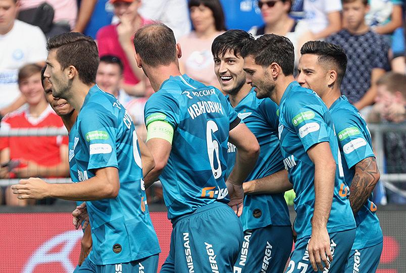 «Зенит» одержал победу в Оренбурге