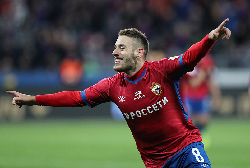 ПФК ЦСКА победил «Краснодар»