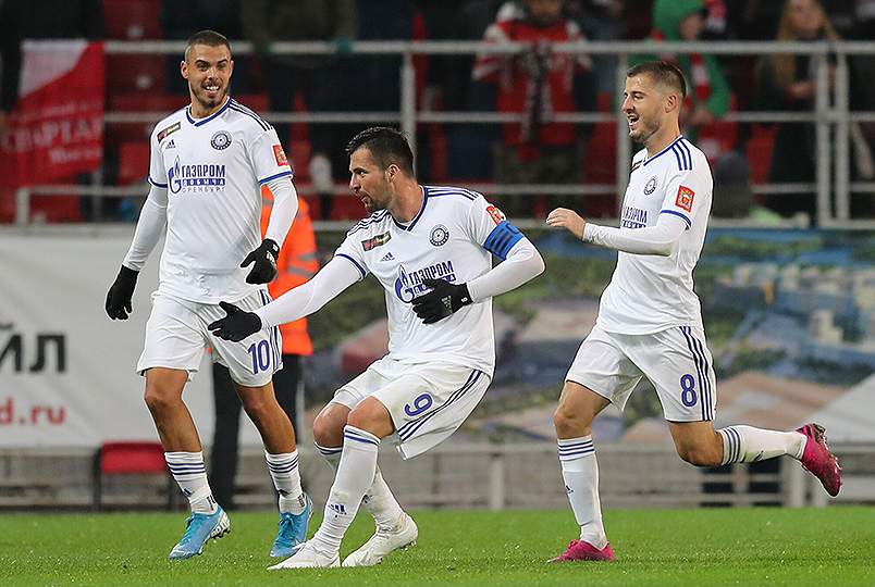 «Оренбург» нанёс поражение «Спартаку»