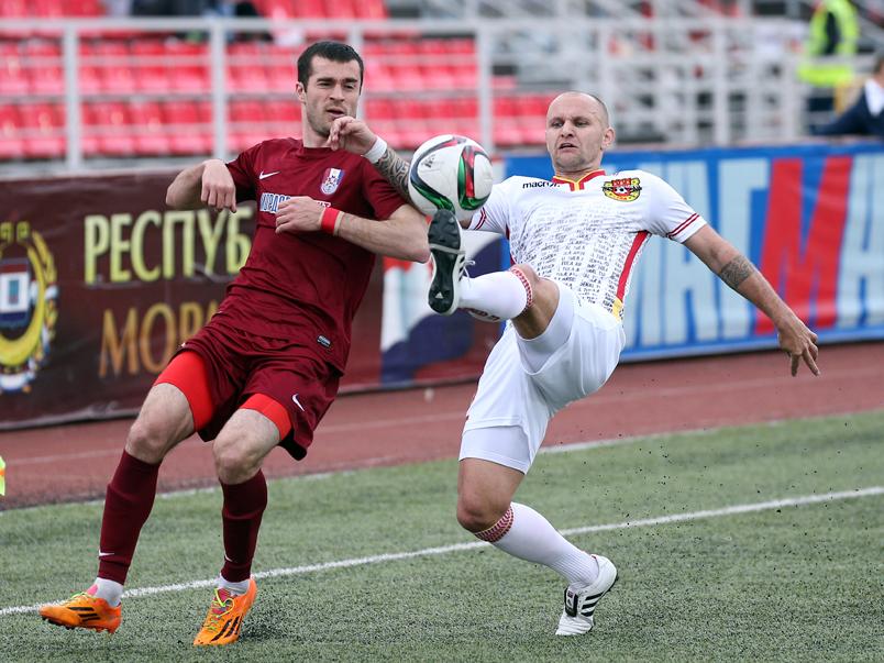 «Мордовия» одержала победу над «Арсеналом»