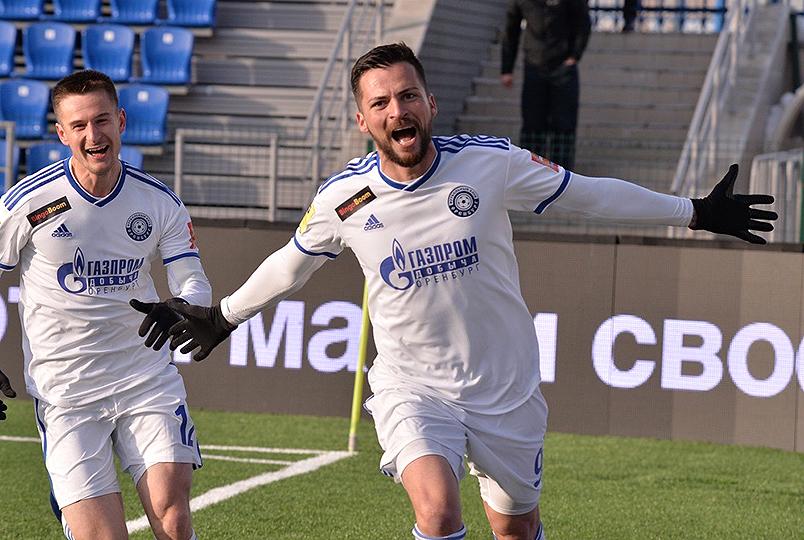 Голы Деспотовича принесли победу «Оренбургу»