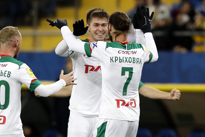«Локомотив» победил «Ростов»