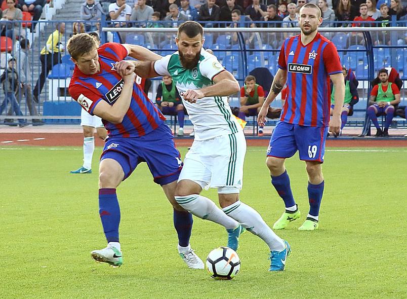 «СКА-Хабаровск» и «Ахмат» сыграли вничью