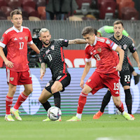 Сборная России сыграла вничью с Хорватией в первом матче под руководством Карпина